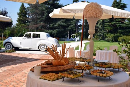 Buffet Tenuta Pegazzera - Location per matrimoni colline Oltrepò Pavese Casteggio Pavia